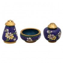 Cloisonne small tank cylinder set