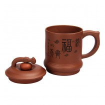 Yixing cup lid Continuous good fortune