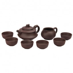 Yixing set clay pot set cloud-dragon